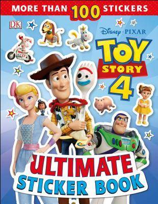 Disney Pixar Toy Story 4 Ultimate Sticker Book by DK