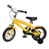 """STOY Bicycle 12"""""""" Cruiser Frame Yellow 3 - 4 years"""