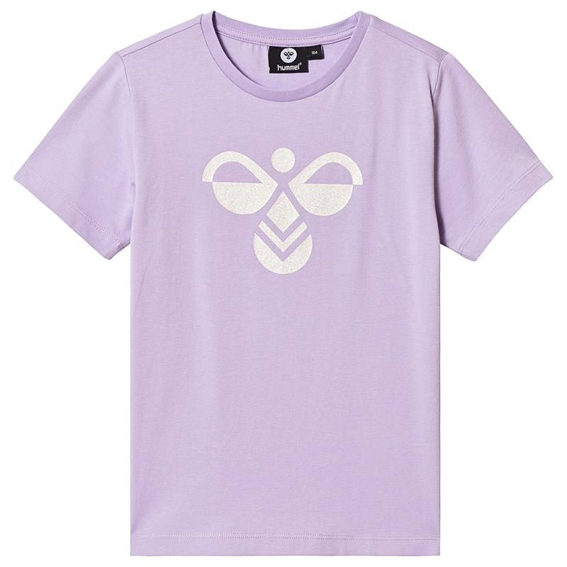 Hummel Palm T-Shirt S/S Lavendula 110 cm (4-5 v)