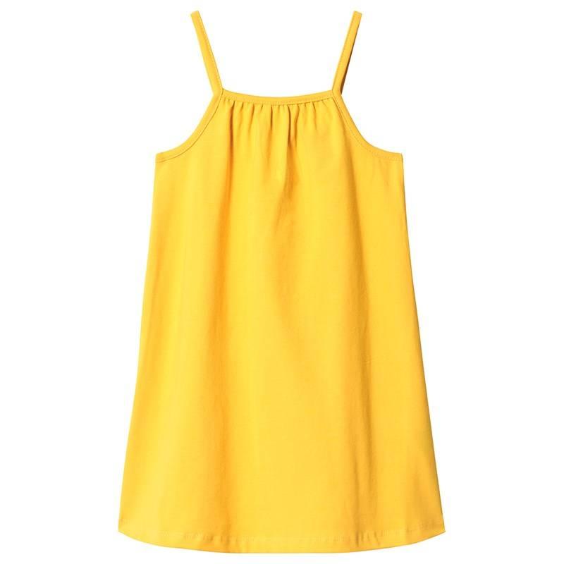 A Happy Brand GIRLY TANK DRESS YELLOW 134/140 cm