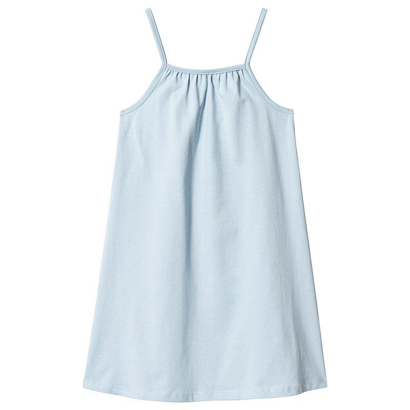 A Happy Brand GIRLY TANK DRESS BLUE 86/92 cm