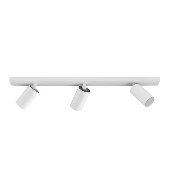 Astro Can 50 Triple Bar Ceiling Light LED Matt White
