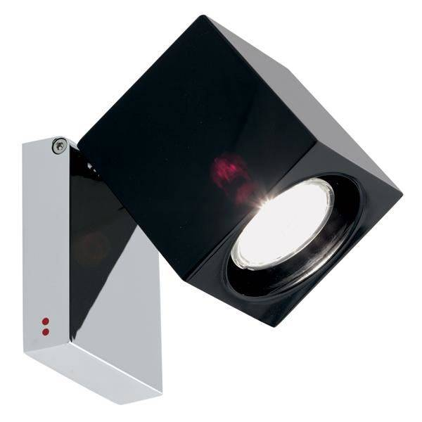 Fabbian Ice Cube Classic Wall & Ceiling Light Black