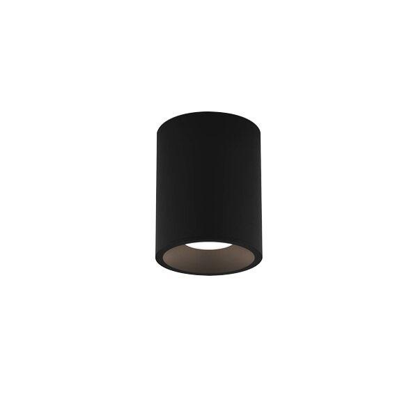 Astro Kos Round 100 Bathroom Light LED Texture Black