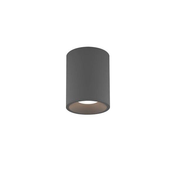 Astro Kos Round 100 Bathroom Light LED Texture Grey