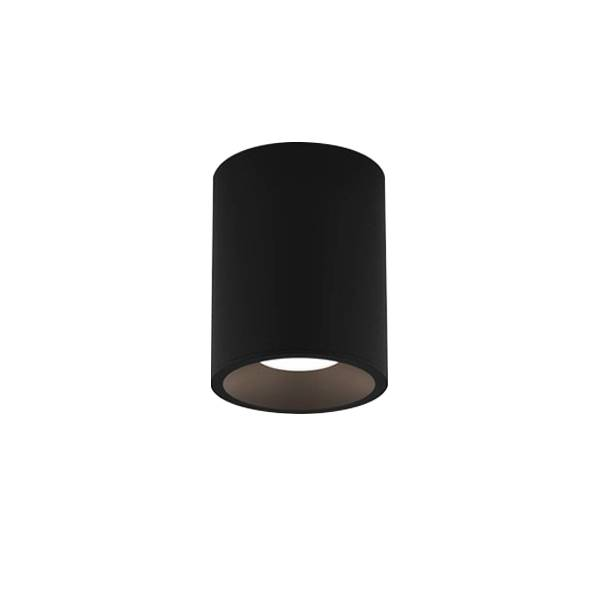 Astro Kos Round 140 Bathroom Light LED Texture Black