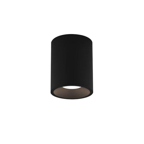 Astro Kos Round 140 Bathroom Light LED Texture Black