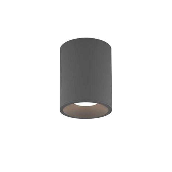 Astro Kos Round 140 Bathroom Light LED Texture Grey