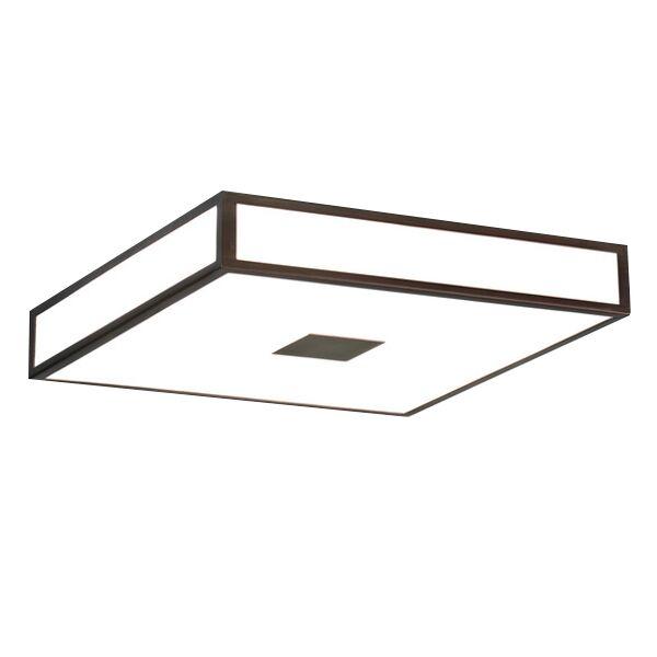 Astro Mashiko Square 400 Bathroom Light LED Bronze