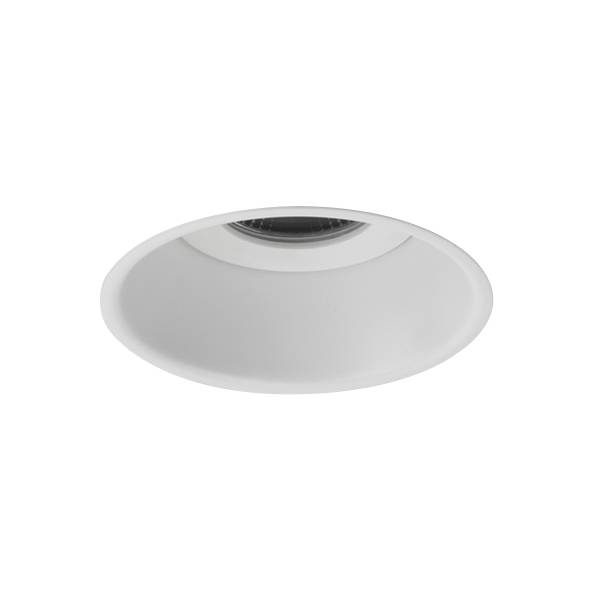 Astro Minima Round Fixed Bathroom Light LED Matt White