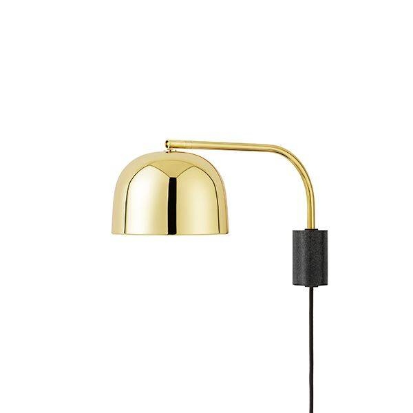 Normann Copenhagen Wall Light Small Brass