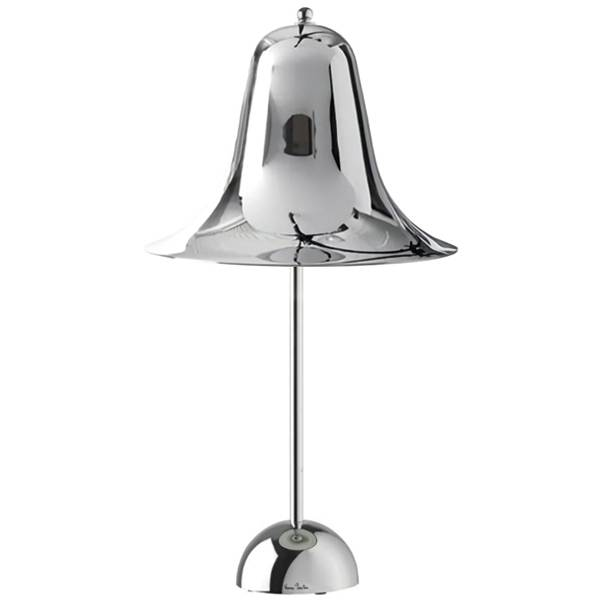 Verner Panton Pantop Table Lamp Chrome