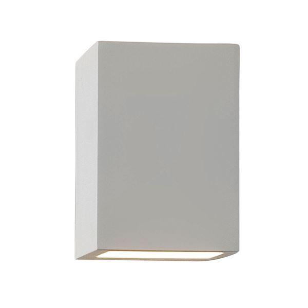 Astro Mosto Plasterwork Wall Light White