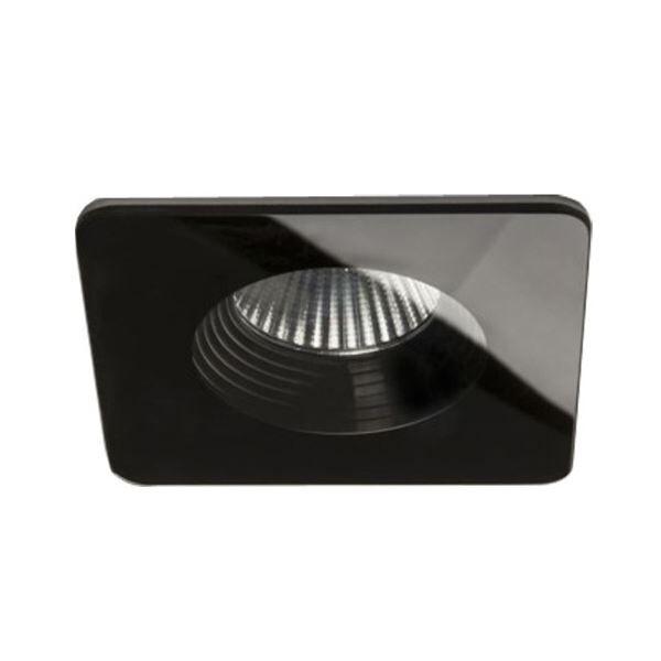 Astro Vetro Square Ceiling Light Black
