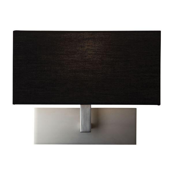 Astro Park Lane Wall Light Matt Nickel Black