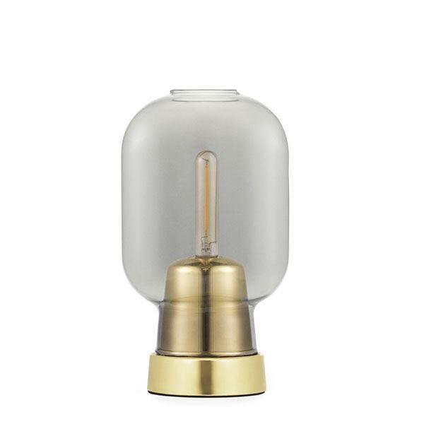 Normann Copenhagen Table Lamp Smoke-coloured/Brass
