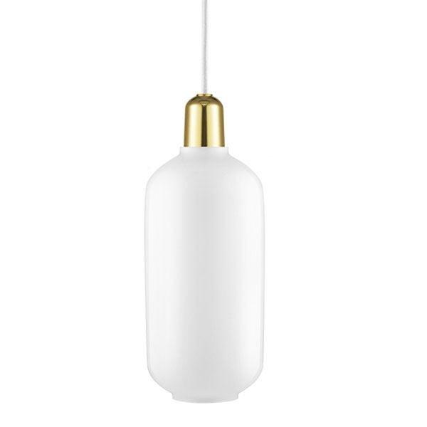 Normann Copenhagen Pendant Big White/Brass