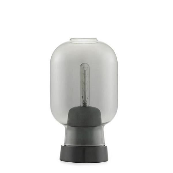 Normann Copenhagen Table Lamp Smoke-coloured/Black