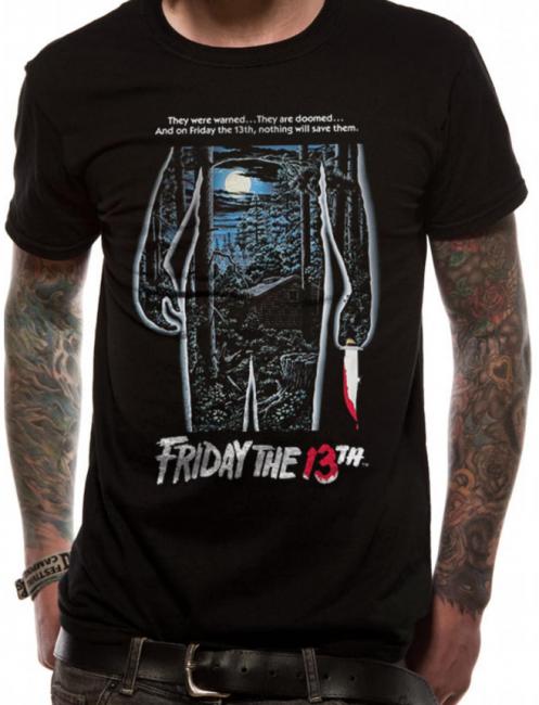 T-PAITA - FRIDAY THE 13TH - MOVIE SHEET  -painatus valitsemaasi paitaan