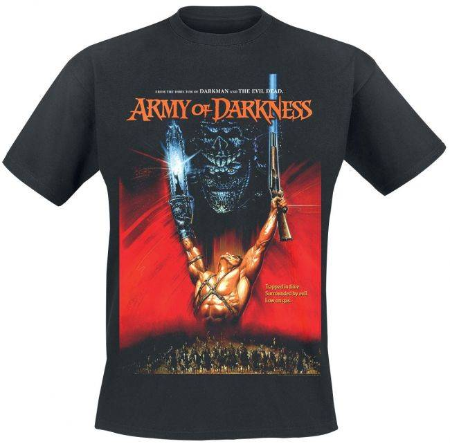 T-PAITA - ARMY OF DARKNESS - POSTER  -painatus valitsemaasi paitaan