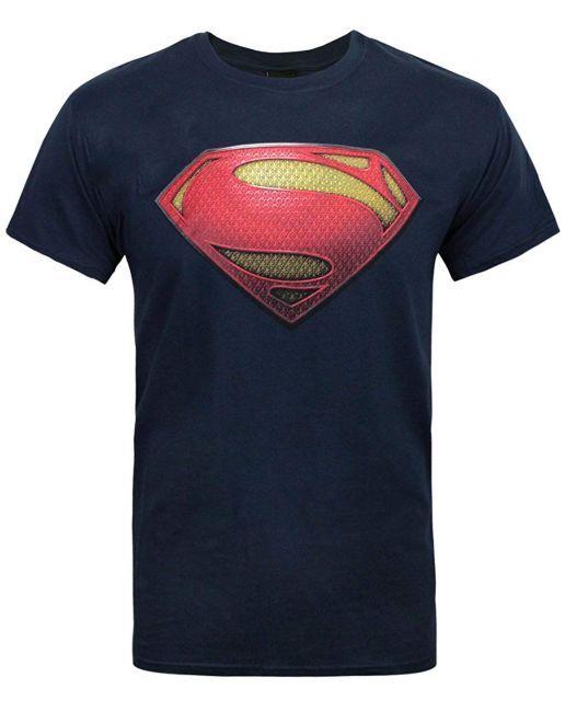 T-PAITA - SUPERMAN - MAN OF STEEL LOGO  -painatus valitsemaasi paitaan