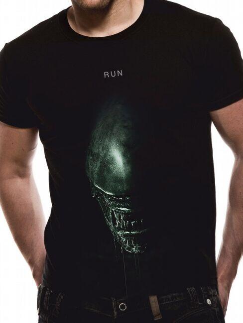 T-PAITA - ALIEN COVENANT - RUN  -painatus valitsemaasi paitaan