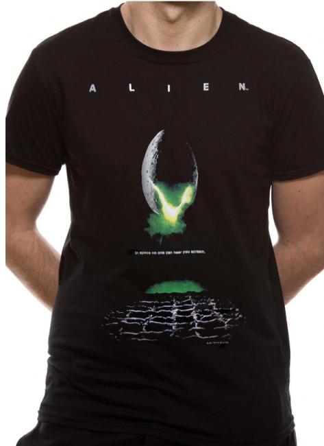 T-PAITA - ALIEN - POSTER  -painatus valitsemaasi paitaan