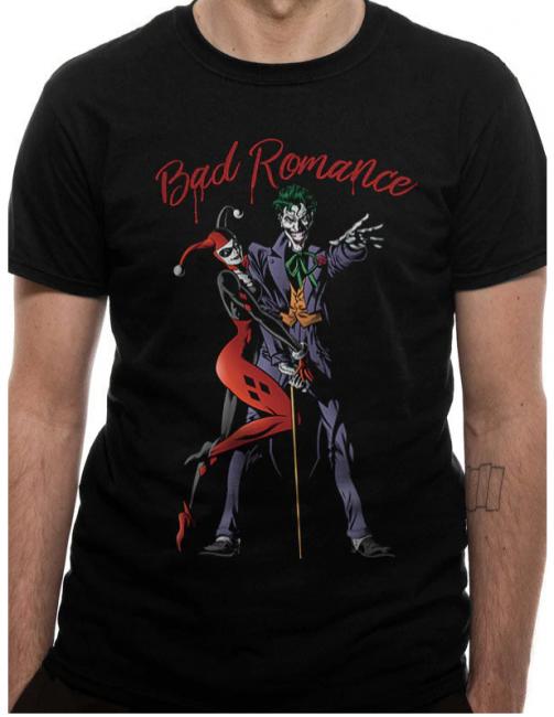 T-PAITA - BATMAN - BAD ROMANCE  -painatus valitsemaasi paitaan