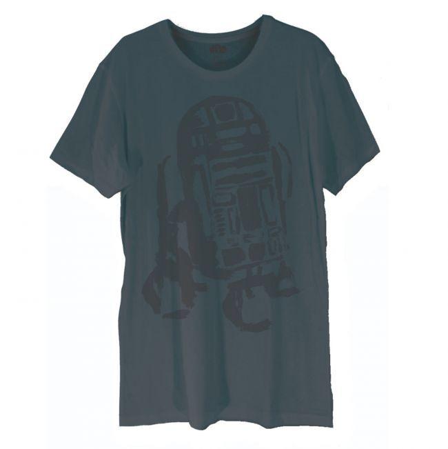 T-PAITA - STAR WARS - R2D2 BLUEPRINT  -painatus valitsemaasi paitaan