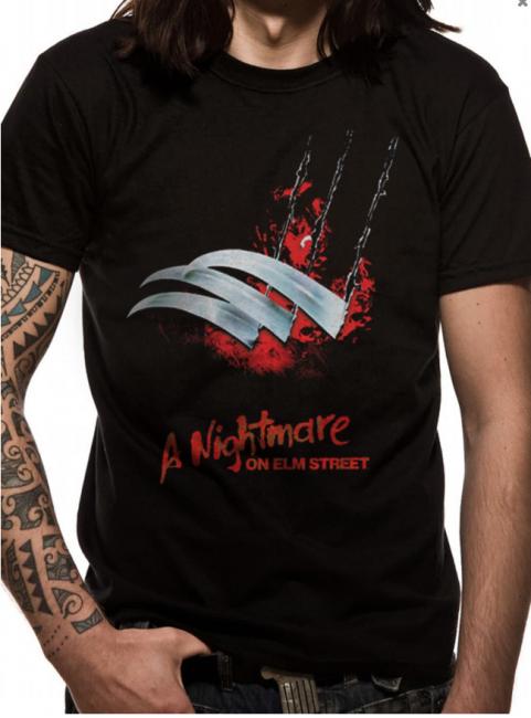 T-PAITA - NIGHTMARE ON ELM STREET - BLADES  -painatus valitsemaasi paitaan