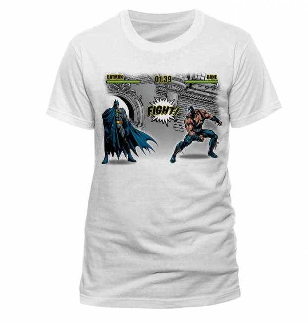 T-PAITA - BATMAN - FIGHT  -painatus valitsemaasi paitaan