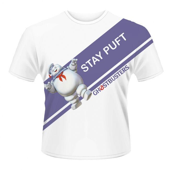 T-PAITA - GHOSTBUSTERS - STAY PUFT  -painatus valitsemaasi paitaan