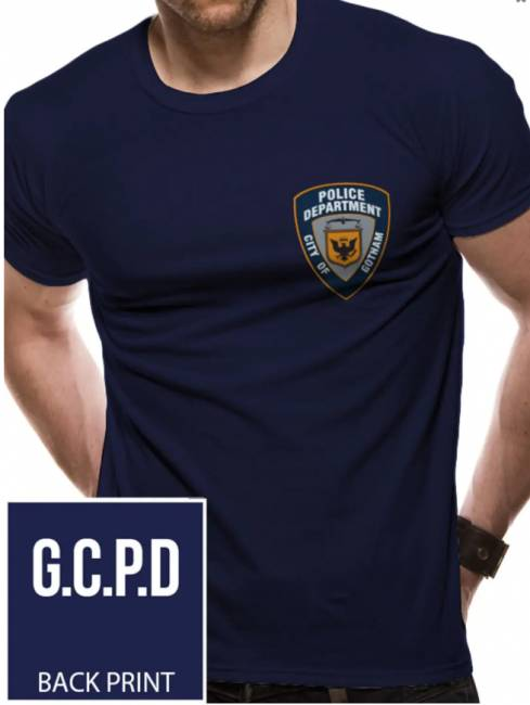 T-PAITA - BATMAN - GOTHAM CITY POLICE  -painatus valitsemaasi paitaan