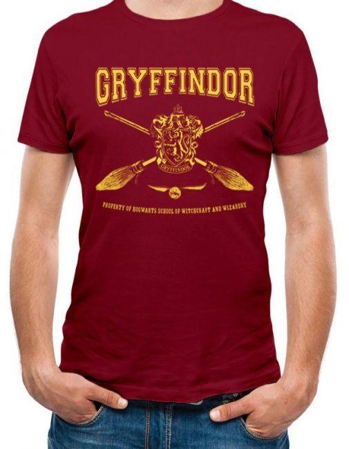 T-PAITA - HARRY POTTER - COLLEGIATE GRYFFINDOR  -painatus valitsemaasi paitaan