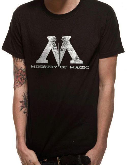 T-PAITA - HARRY POTTER - MINISTRY OF MAGIC  -painatus valitsemaasi paitaan