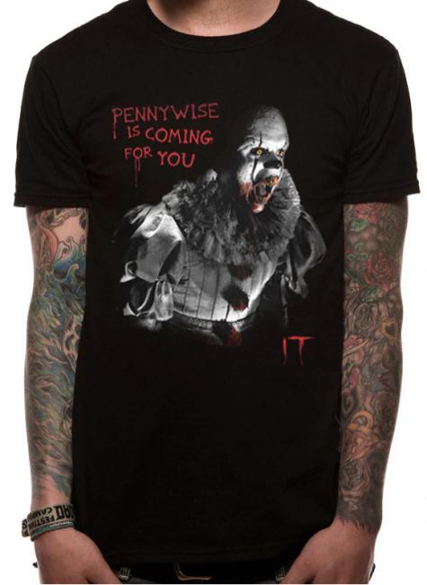 T-PAITA - IT - COMING FOR YOU  -painatus valitsemaasi paitaan