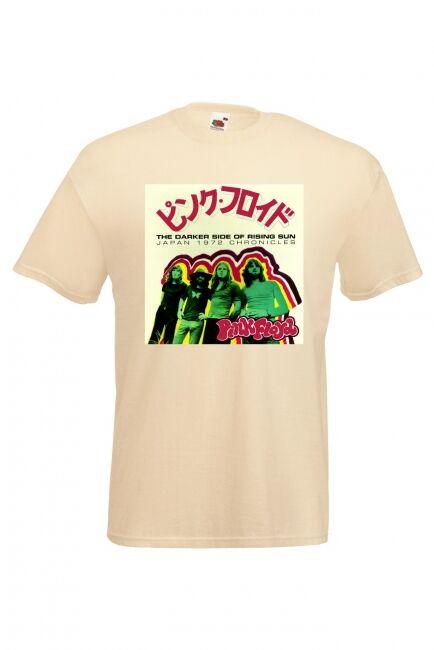 JET T-PAITA  - PINK FLOYD JAPAN (LUONNONVALK.) (80A426)