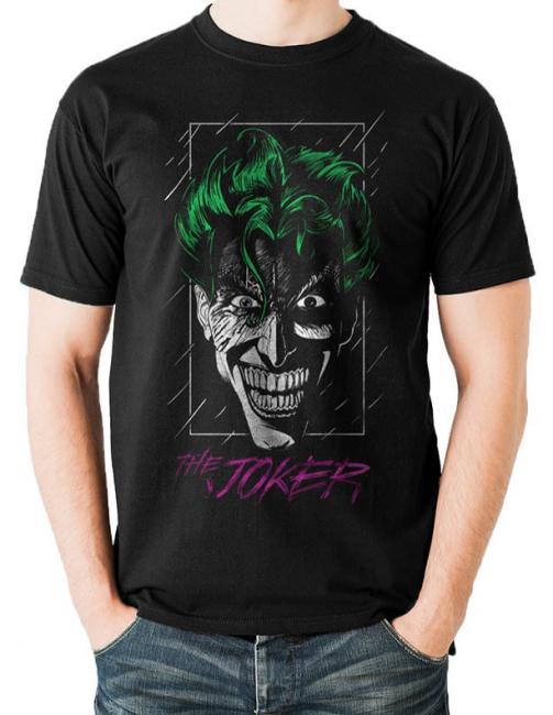 T-PAITA - BATMAN - JOKER COLOR  -painatus valitsemaasi paitaan