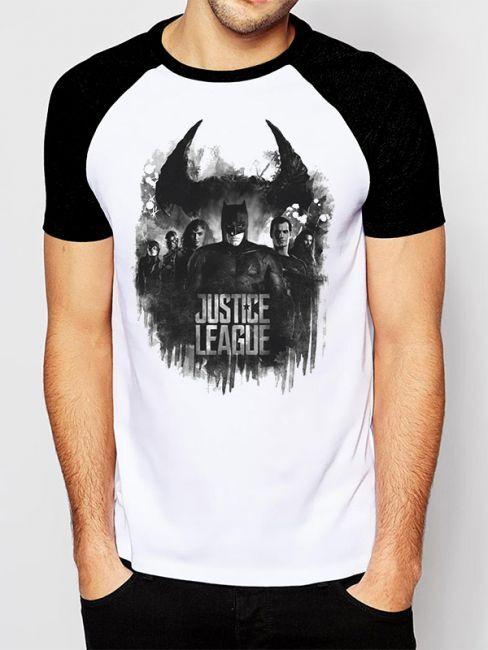 T-PAITA - JUSTICE LEAGUE - MOVIE GROUP  -painatus valitsemaasi paitaan