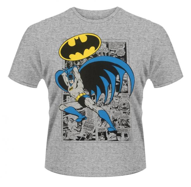 T-PAITA - BATMAN - LOGO POSE  -painatus valitsemaasi paitaan