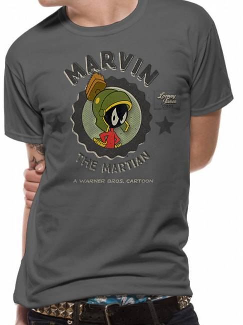 T-PAITA - LOONEY TUNES - MARVIN MARTIAN  -painatus valitsemaasi paitaan