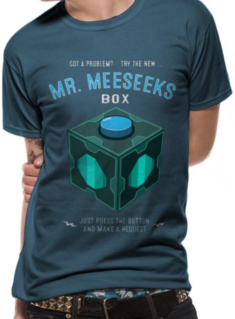 T-PAITA - RICK & MORTY - MESEEKS BOX  -painatus valitsemaasi paitaan