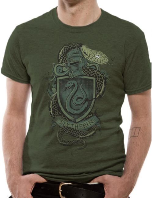 T-PAITA - HARRY POTTER - SLYTHERIN  -painatus valitsemaasi paitaan