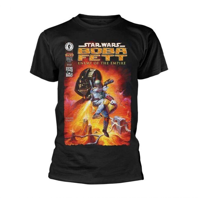 T-PAITA - STAR WARS - BOBA FETT  -painatus valitsemaasi paitaan