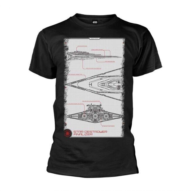 T-PAITA - STAR WARS - DESTROYER MANUAL  -painatus valitsemaasi paitaan