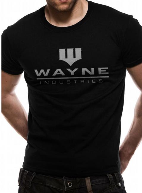 T-PAITA - BATMAN - WAYNE INDUSTRIES  -painatus valitsemaasi paitaan