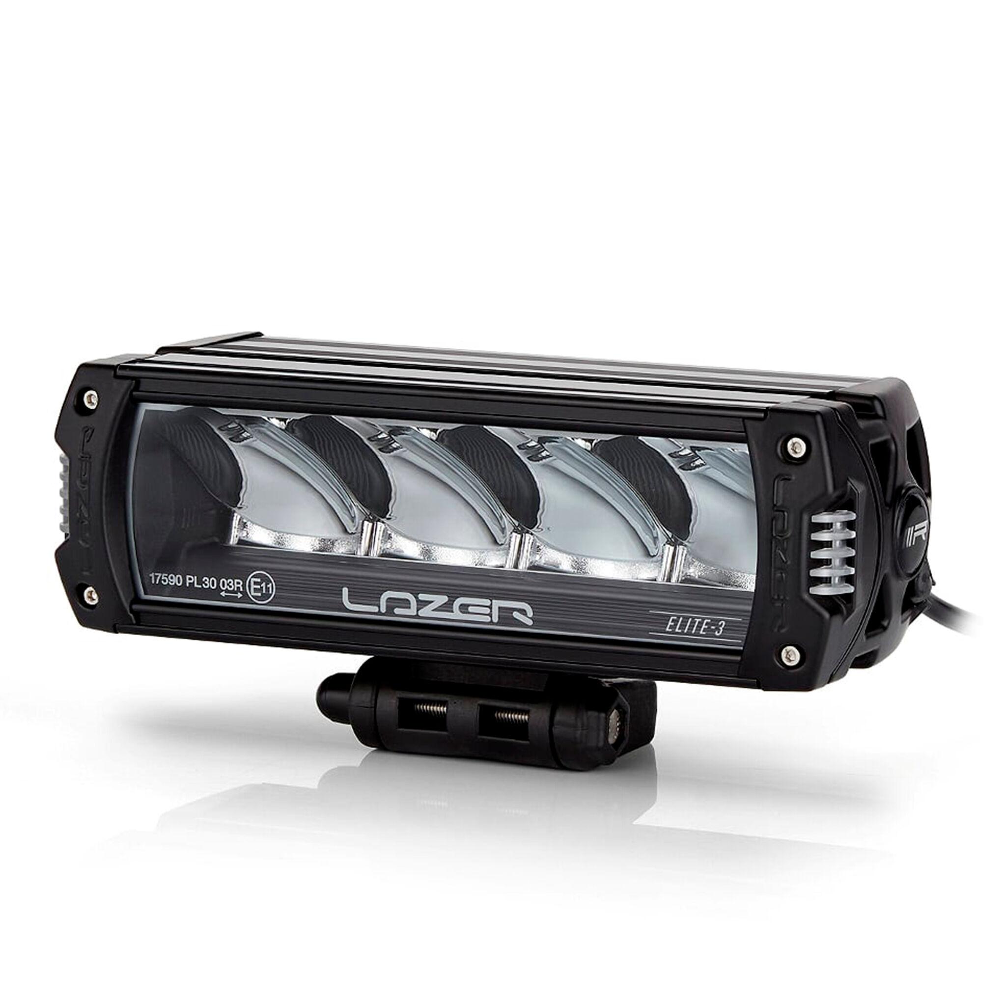 LAZER Lisävalo Lazer Triple-R 750 Elite 3 - Suora / 22 cm / 46W / Ref. 37.5, 2 kpl - Täydellinen setti