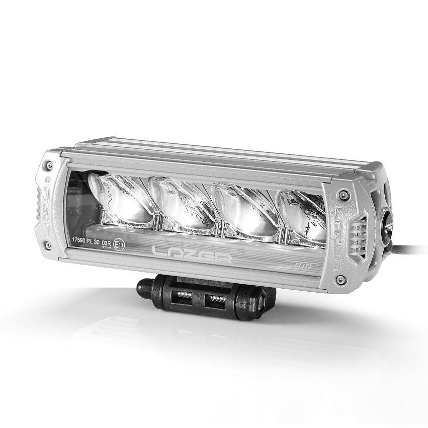 LAZER Lisävalo Lazer Triple-R 750 Elite 3 Titanium - Suora / 22 cm / 46W / Ref. 37.5, 2 kpl - Täydellinen setti