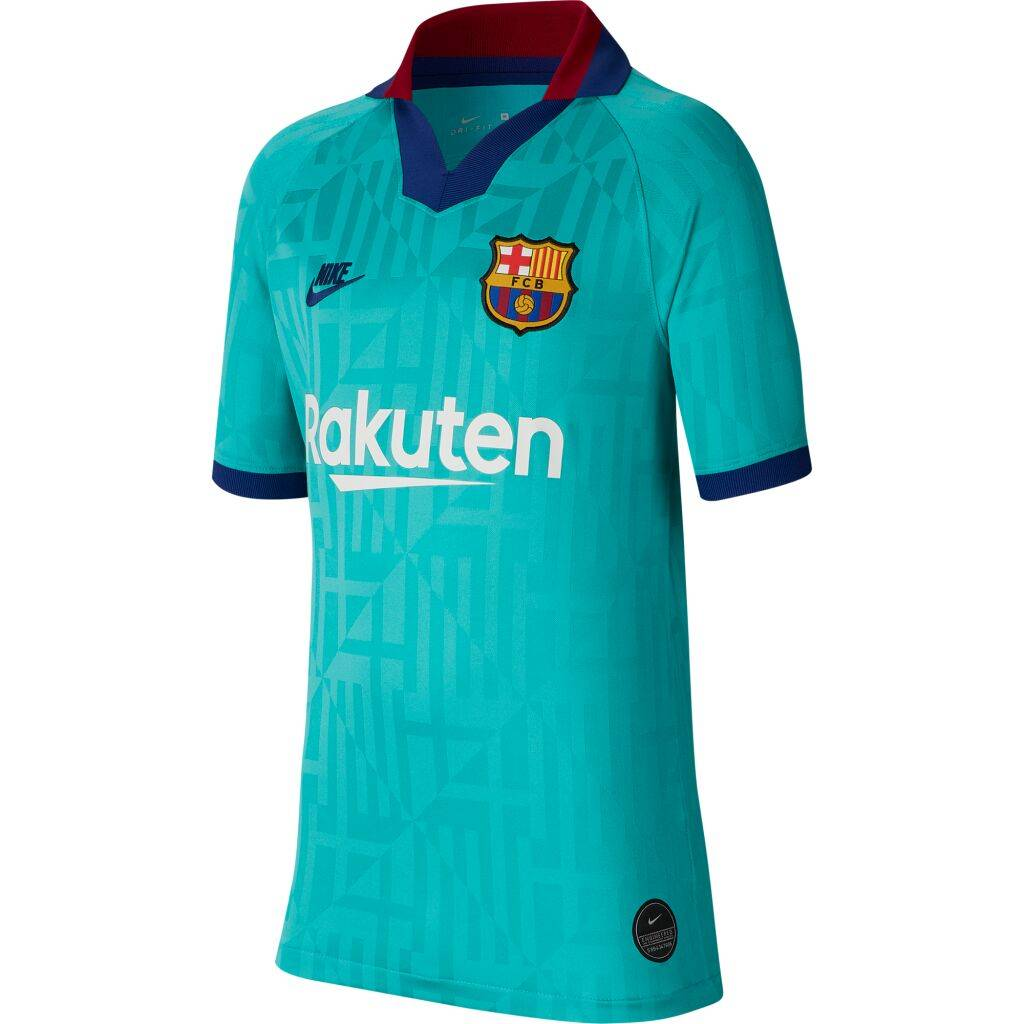 Image of Nike Fc barcelona 2019/20 stadium third jr