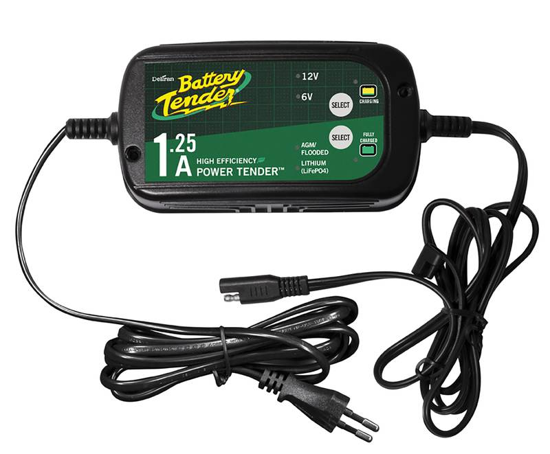 Battery Tender Plus 6V/12V 1.25A lyijy/lithium Akkulaturi Kätevä älylaturi